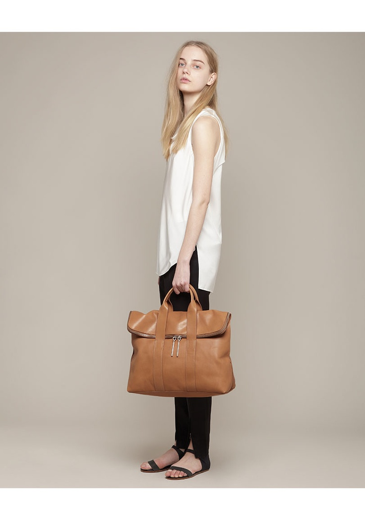 3.1 Phillip Lim / 31 Hour Bag: Hour Bags, Minimal Outfit, 31 Hour, Brown Leather Bags, Everyday Style, Bags Y, Mmh Bags, Cute Travel Outfit, Camels 31