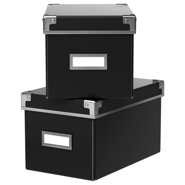 This box is perfect for storing your CDs, games, chargers or desk accessories.