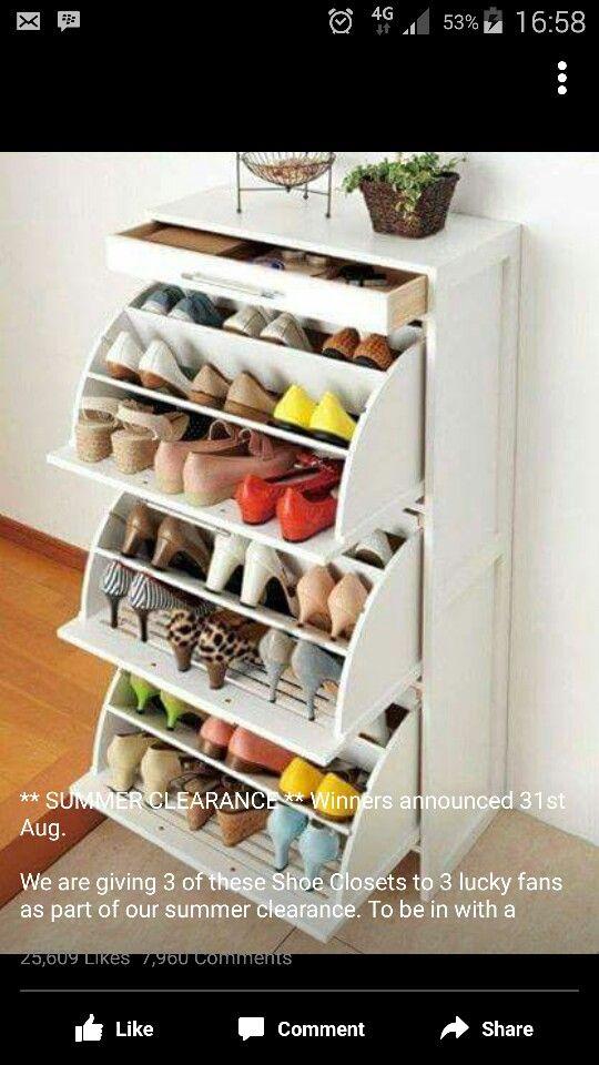 shoe rack drawers