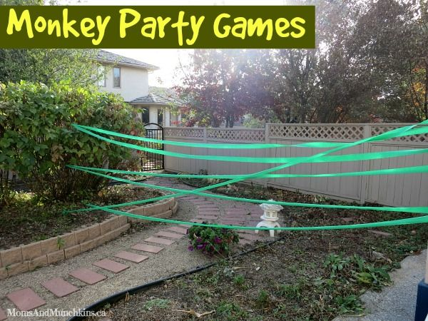 These monkey games are perfect for a monkey birthday party or for a silly day at home with your family. Lots of creative ideas here for all ages to play.