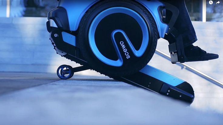 '가파른 계단도 자유롭게', 놀라운 차세대 휠체어: NEXT GENERATIONS OF WHEEL CHAIR ! ANYWHERE YOU WANNA GO !