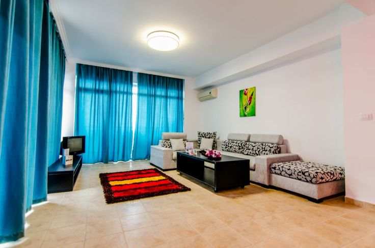 One bedroom apartment living room - Phoenicia Holiday Resort, Mamaia Nord, Romania