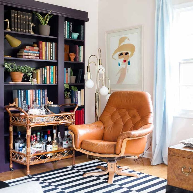 Balancing Retro Style With Color in a Small 1960s Bungalow | Design*Sponge