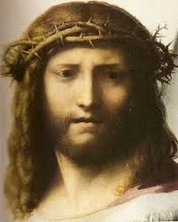 this is another portraits of what some people portrayed jesus to look like and the types of skin and facial expression certain people believed he used and were real