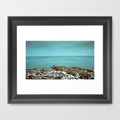 LIGHTHOUSE Framed Art Print by lilla värsting - $32.00