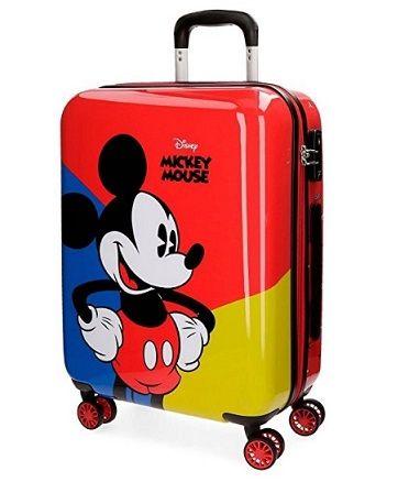 6deaad1445a39 Maleta Mickey Mouse barata. Descuento del 10%   Regalos para niños ...