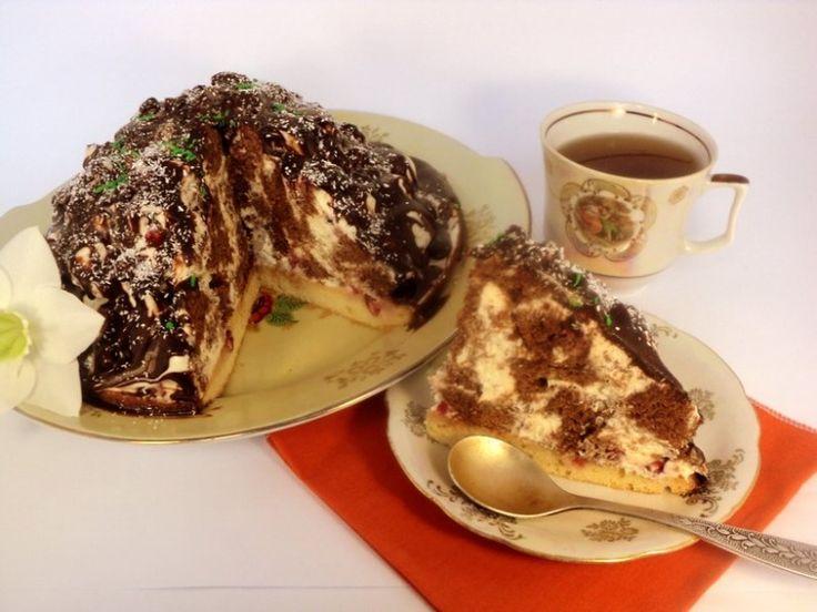 Торт кучерявый пинчер в разрезе