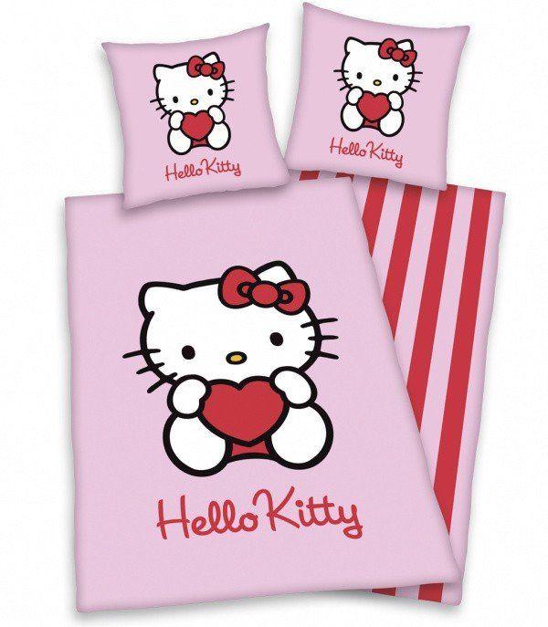 Housse de couette Hello Kitty pour lit enfant