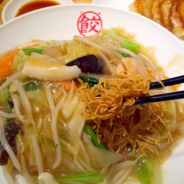 #osaka #japon - 18件のもぐもぐ - パリパリ海鮮皿うどん by maixx ใหม่