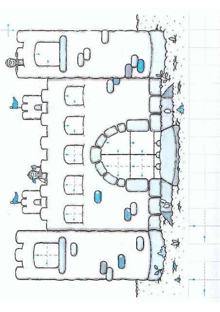 schrijfpatronen kasteel, free printable / Grafomotricidad