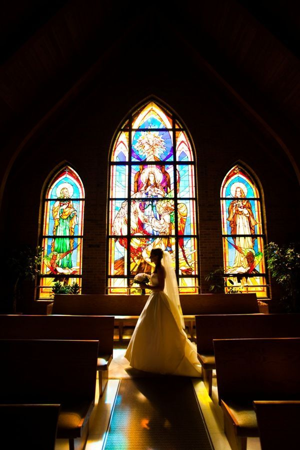I told my mom we should be catholic for a couple of years just so I can get married in a catholic church :)