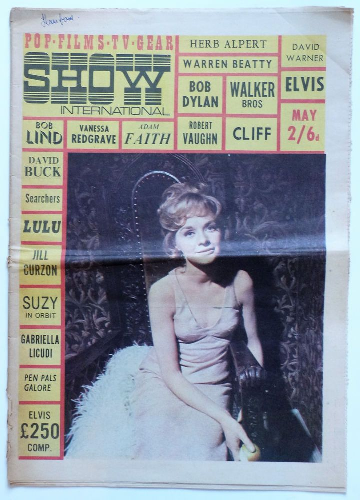 POP SHOW INTERNATIONAL May 1966: Walker Bros, Dr Who, Searchers, Bob Dylan..etc