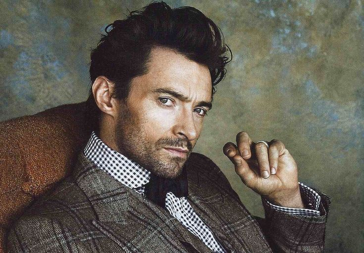 hugh jackman. I like this version much better than the wolverine.