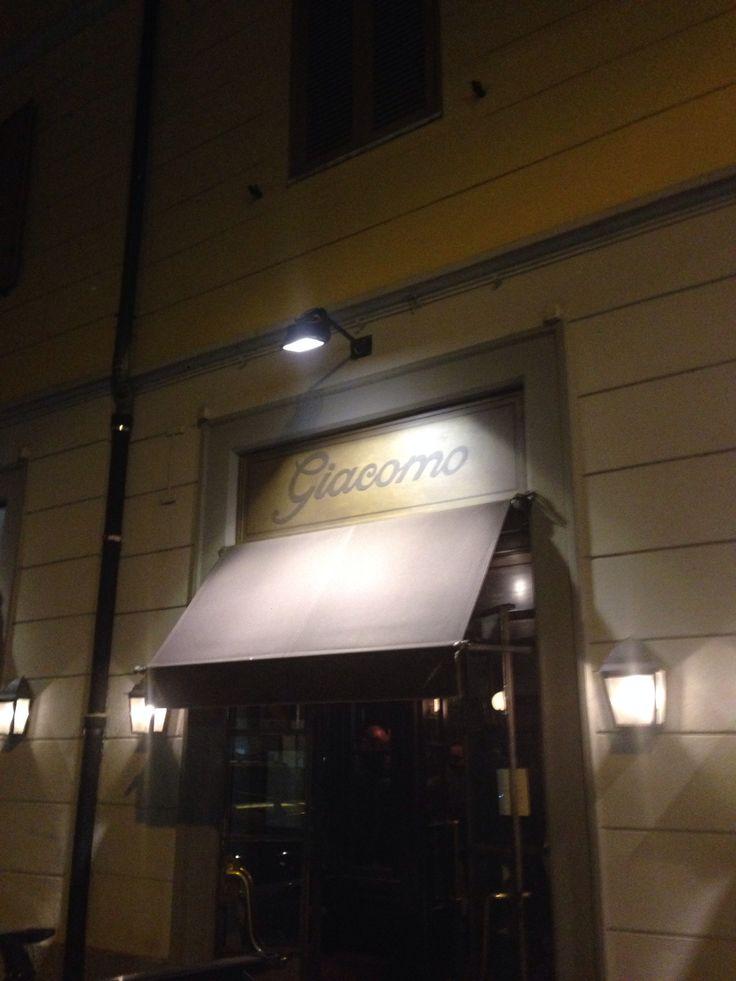 Birthday dinner at giacomo bistrot milano 10-4-14