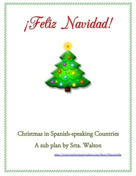 This is an activity about Christmas in Spanish-speaking countries from around the world that can be used anytime during November or December. It is also a good emergency sub plan to keep handy. It includes three articles related to Christmas in Spain and Latin American countries.