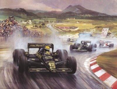 Senna, Lotus 85.