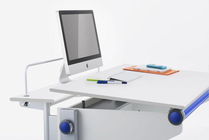 biurka dla dzieci - winner blat uchylny