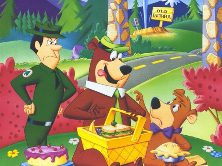 Yogi Bear was created by William Hanna and Joseph Barbera