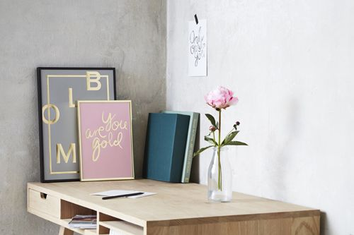 Bloom! and Gold. Love the combination.Shop online. Photocredit: ILMT