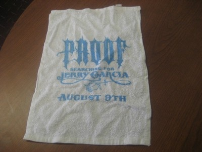 Big Proof (D12) Searching for Jerry Garcia Promo Towel *RARE*