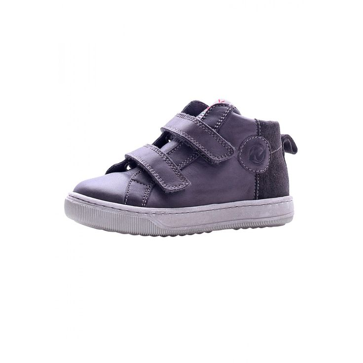 NATURINO PLAY –Leather sneakers – Grey - Sneakers - Boy