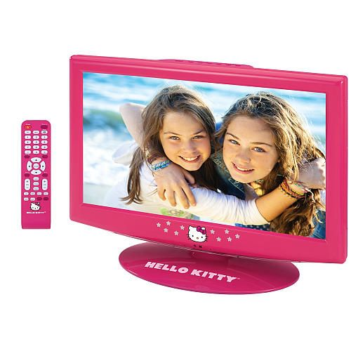 "Hello Kitty 19 Inch LCD TV with Remote -  Spectra Merchandisin - Toys""R""Us"