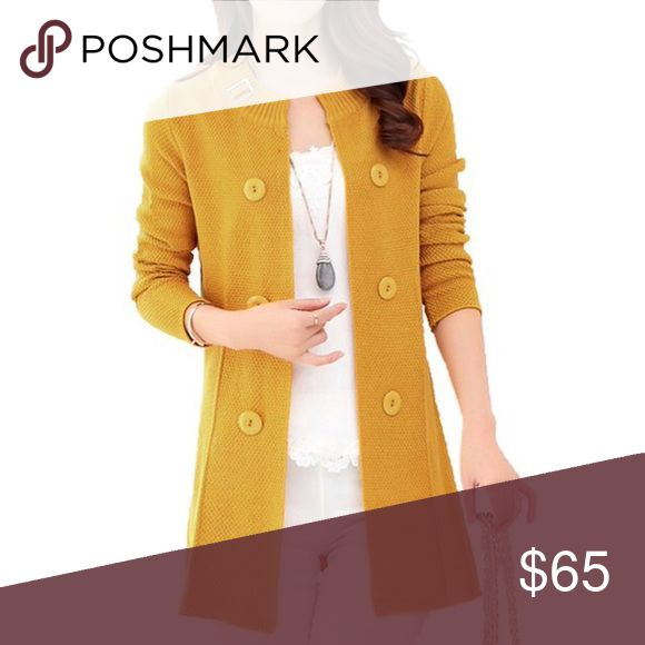 🆕Loose Open Front Mid-long Knit Cardigan Fabric: 55% Wool, 45% Mixed Spinning Hand wash cold, do not soak for a long time, do not bleach, flat to dry Loose and soft, breathable, comfortable to wear Solid color, shoulder epaulettes, round neckline Sweaters Cardigans
