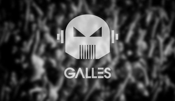 Galles Dj // Logo // Corporate ID. by Cristiano Vicedomini, via Behance