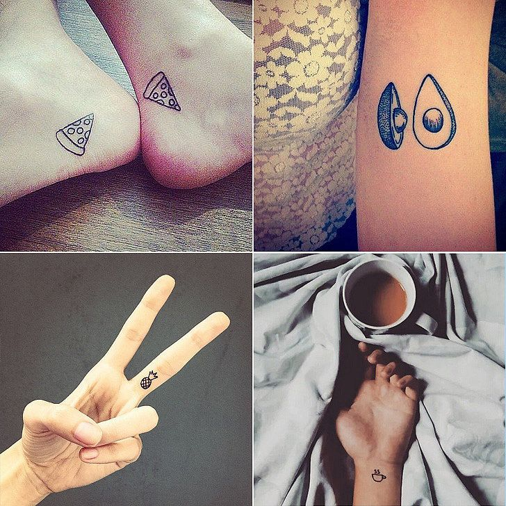 They say your tattoos should all be near and dear to your heart, and how real is your love of food? If it's really real, feel no shame in displaying that love with some adorable body art.  We found 31 of the cutest tiny food tattoos to prove your lifelong dedication to pizza, coffee, and more.