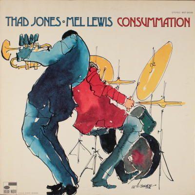 Consummation/Thad Jones-Mel Lewis   Blue Note BST 4346