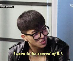 Mino used to be scared of BI #Winner #iKon