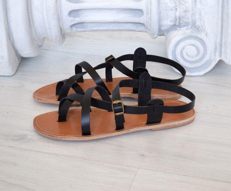 Sandalias griegas, sandalias de Gladiador de Hippie, sandalias espartanas, sandalias artesanales, sandalias negras, de AstirSandals en Etsy https://www.etsy.com/mx/listing/387405448/sandalias-griegas-sandalias-de-gladiador
