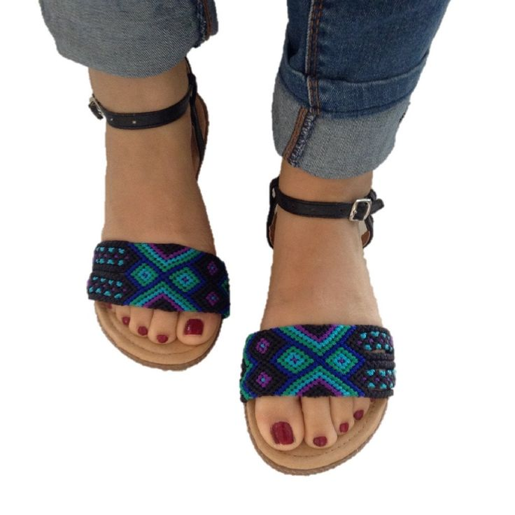 Nayarit Ankle Strap Sandals
