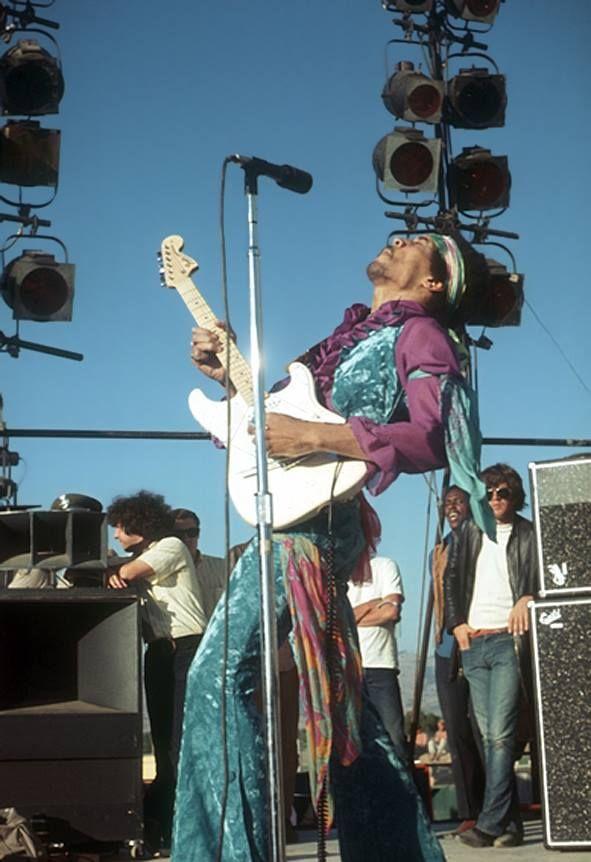 Jimi Hendrix pt. III SanJose,SantaClara 25 May 1969 Vince Melamed / Charlie Angel