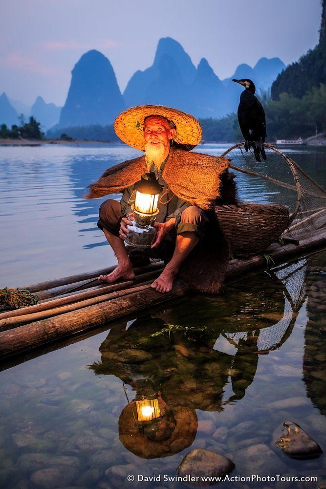 Cormorant Fisherman by David Swindler on 500px