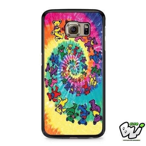 Dead Tie Dye Tapestry Bear Samsung Galaxy S6 Case