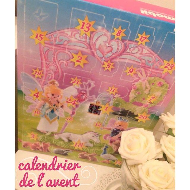 #premiere #case du #calendrier de l #avent a ouvrir aussi pour ma #fille comme chaque #année elle choisit #playmobil c est le #compte a #rebours pour elle dans 24 #jours elle ouvrira ses #cadeaux