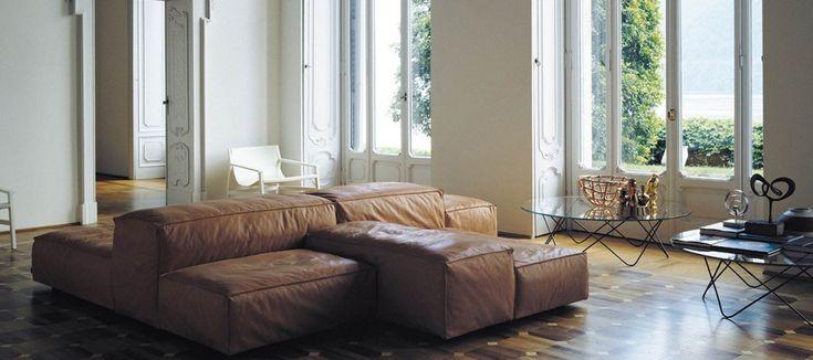 Living Divani Extra Soft sofa ontworpen door Piero Lissoni interieur sfeer foto