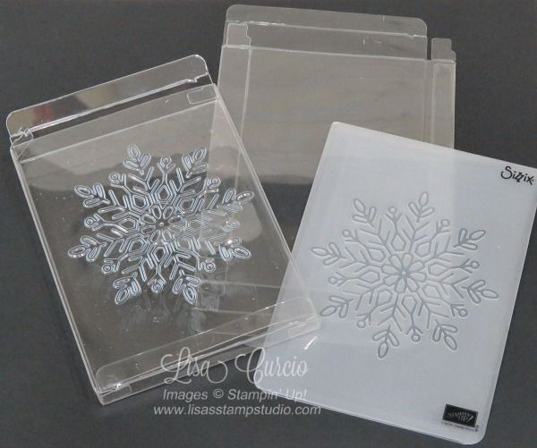 Quick tip video tutorial on how to use embossing folders to create impressions on acetate card boxes.