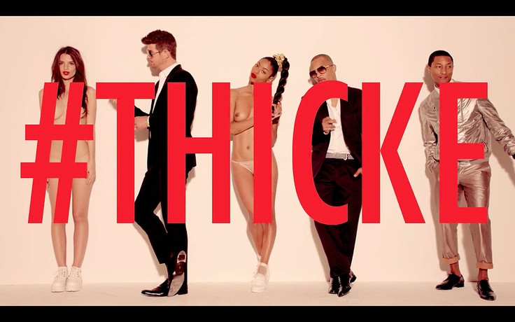 Robin Thicke, Blurred Lines , funny clip !!!