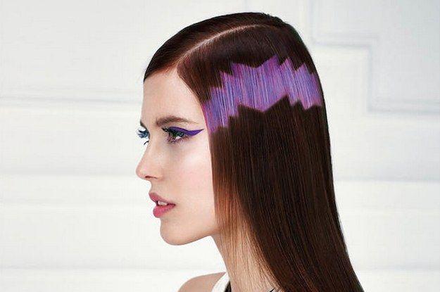 The Latest Hair Trend Is To Make It Look Like Computer Pixels???????? LOL