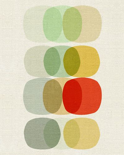 Keep It Simple Circle - Inaluxe Prints - Easyart.com