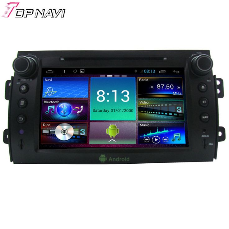 8'' Quad Core Android 4.4.4 Car Dvd Player For Suzuki SX4 With 16GB Flash Mirror Link Stereo Radio GPS Map Free Shipping