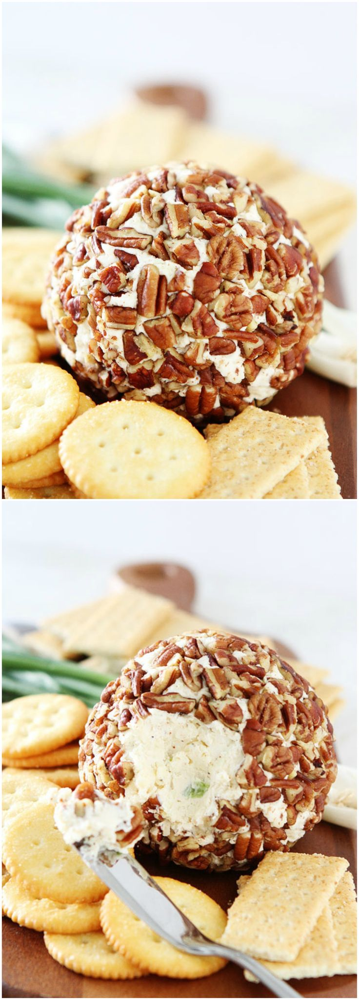 Easy Cheese Ball Recipe on twopeasandtheirpod.com This is the BEST cheese ball and it is so easy to make! It is the perfect snack for any party!
