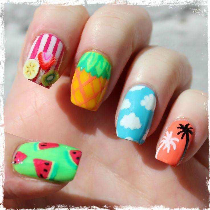 Page 3 nail polish design designs tumblr for short nails tribal nail designs for luau prinsesfo Choice Image