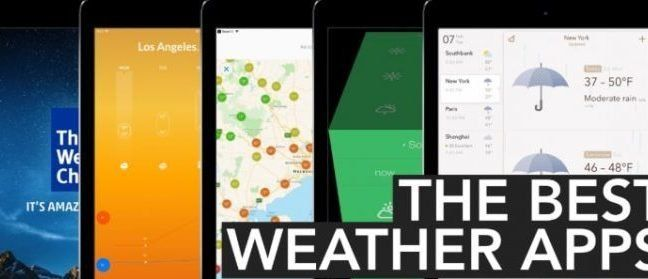 Top 10 Best Weather Apps For Android App Best Weather App Weather