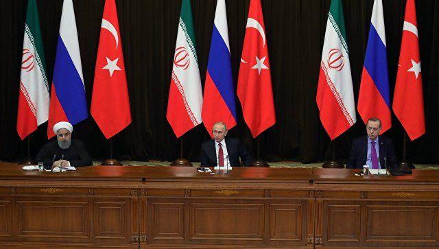 Το Κουτσαβάκι: Η Ρωσία, το Ιράν και η Τουρκία συζήτησαν για την δ...