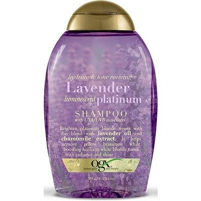 Ogx Hydrate & Color Reviving Lavender Luminescent Platinum Shampoo 13 oz $6.29  Visit www.BarberSalon.com One stop shopping for Professional Barber Supplies, Salon Supplies, Hair & Wigs, Professional Product. GUARANTEE LOW PRICES!!! #barbersupply #barbersupplies #salonsupply #salonsupplies #beautysupply #beautysupplies #barber #salon #hair #wig #deals #sales #Ogx #Hydrate #Color #Reviving #Lavender #Luminescent #Platinum #Shampoo