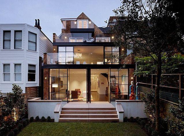 Craftsman house par Dijeau Poage Construction -  Cow Hollow, San Francisco, Usa  - Transformer une vielle demeure traditionnelle américaine en maison contemporaine