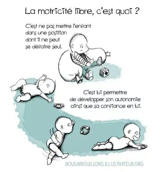 Motricité libre Enfants - Education Bienveillante Montessori Maternage Astuce…